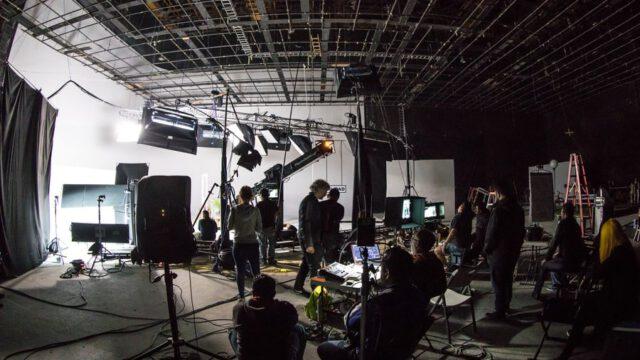 ekipa tworząca spoty reklamowe